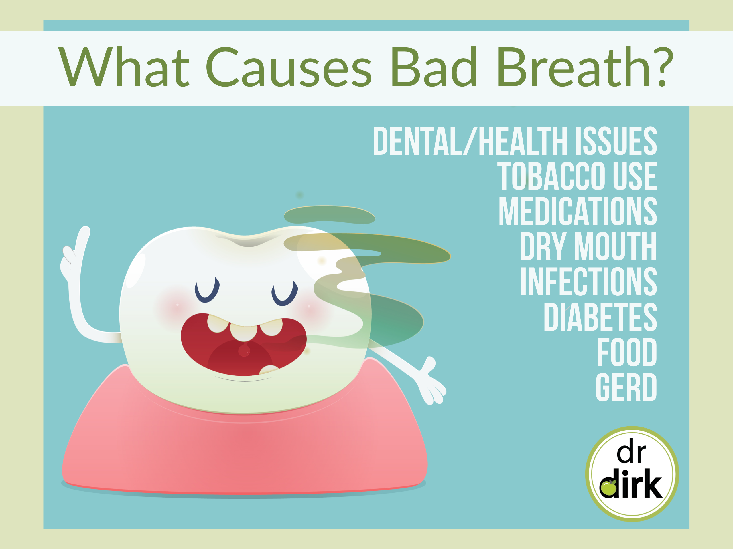 How Can My Calgary Dentist Help With Chronic Bad Breath?