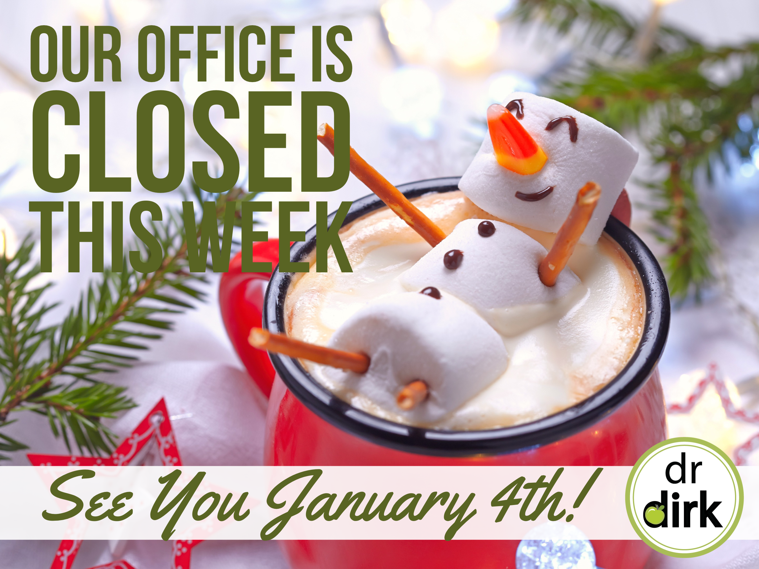 Calgary Dental Office Holiday Break